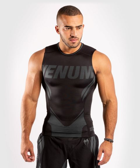 Venum ONE FC Impact Rashguard - sleeveless - Black/Black