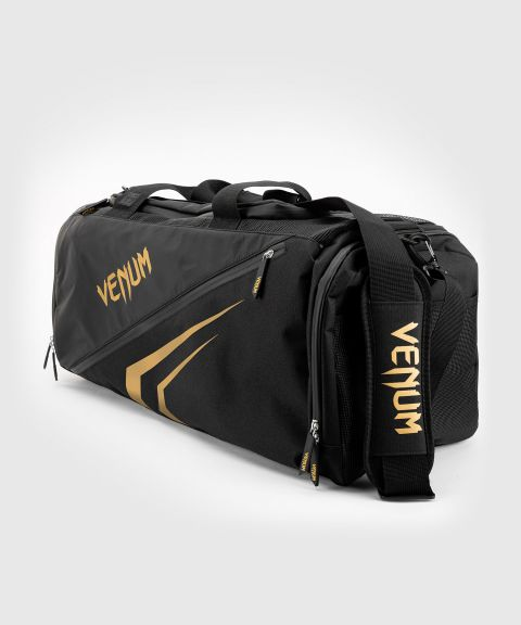 Venum Trainer Lite Evo Sports Bags  - Black/Gold