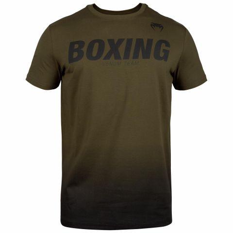 Футболка Venum Boxing VT - Khaki/Black