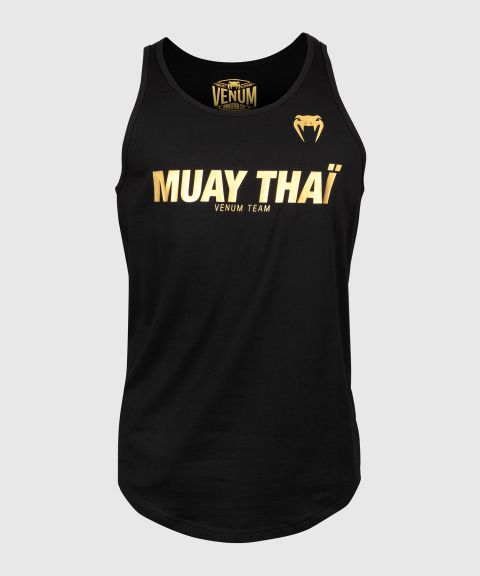 Майка Venum Muay Thai VT - Черный/Золотой