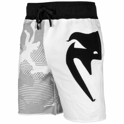 Хлопковые шорты Venum Assault - White/Black