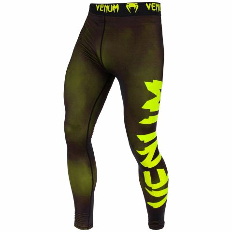 Venum Giant Compresssion Tights - Black/Neo Yellow