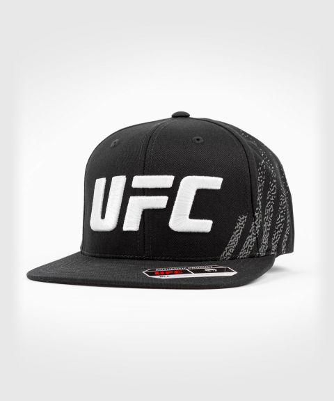 UFC 베넘 어쎈틱 파이트 나이트 유니섹스 워크아웃 모자 - 검정