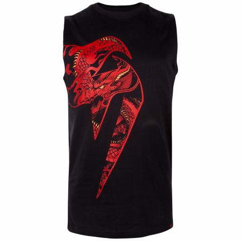 МАЙКА VENUM GIANT X DRAGON - Black/Red