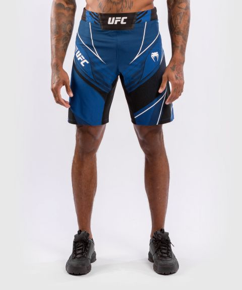 UFC 베넘 어쎈틱 파이트 나이트 남성 쇼츠 - 롱 핏 - 푸른