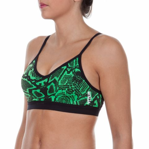 Venum Fusion X-Top Sports bra - Green