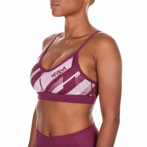 Venum Rapid Sports Bra - Plum