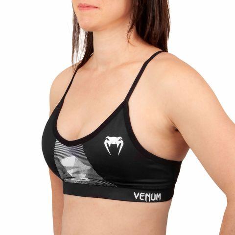 Venum Dune 2.0 Sport Bra - For Women - Black/White