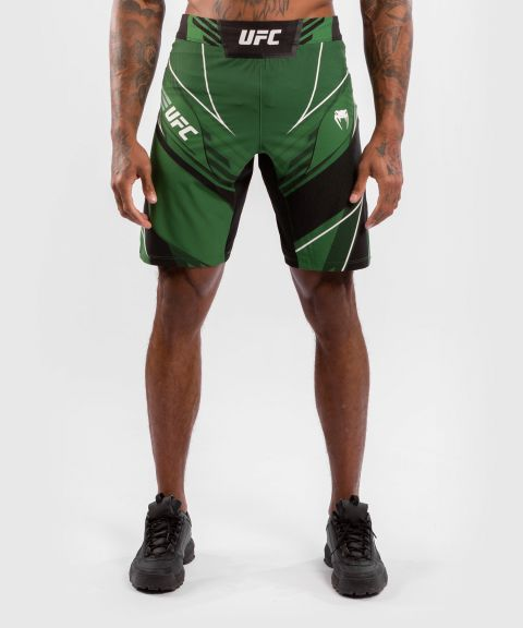 UFC 베넘 어쎈틱 파이트 나이트 남성 쇼츠 - 롱 핏 - 초록
