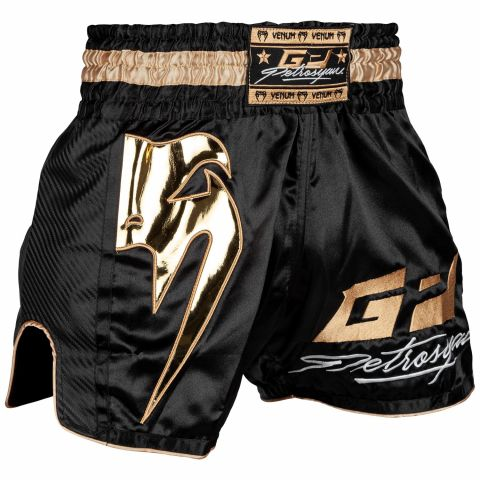 Venum Petrosyan Muay Thai short- Black/Gold