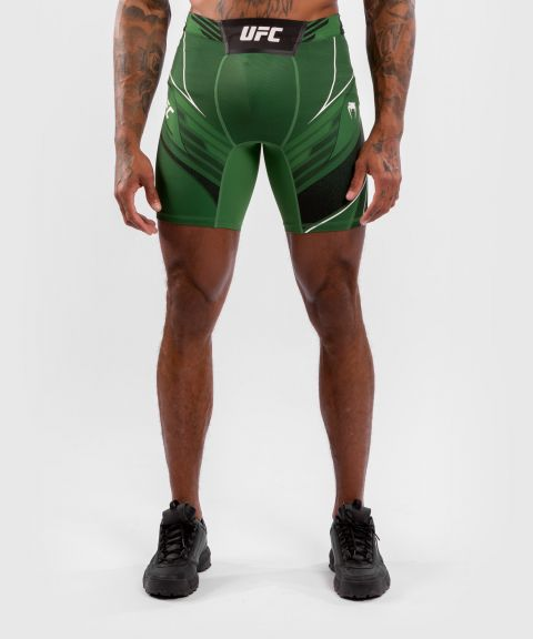 UFC Venum Authentic Fight Night Men's Vale Tudo Shorts - Long Fit - Green