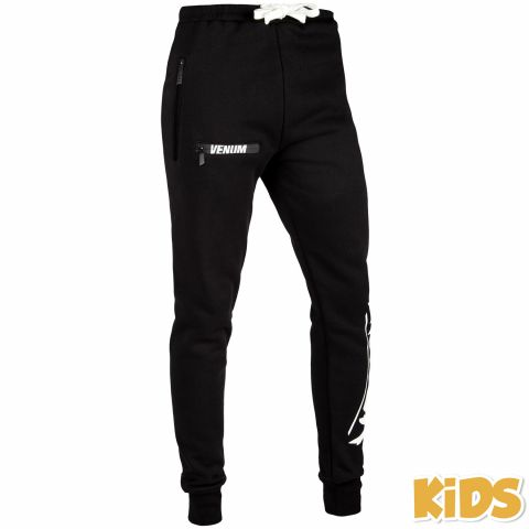 Venum Contender Kids Joggers - Black/White - Exclusive