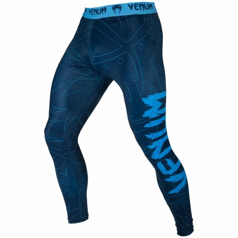 Venum Nightcrawler Compresssion Tights - Navy Blue