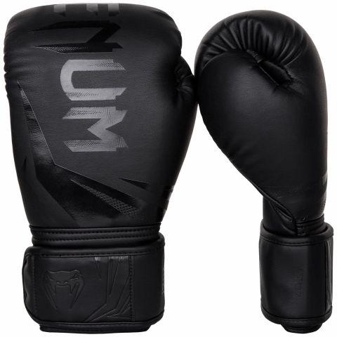 Боксерские перчатки Venum Challenger 3.0 - Черный/Черный