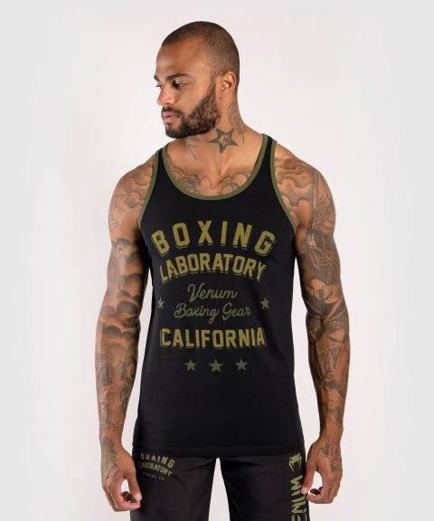 Venum Boxing Lab Tank top - Black/Green