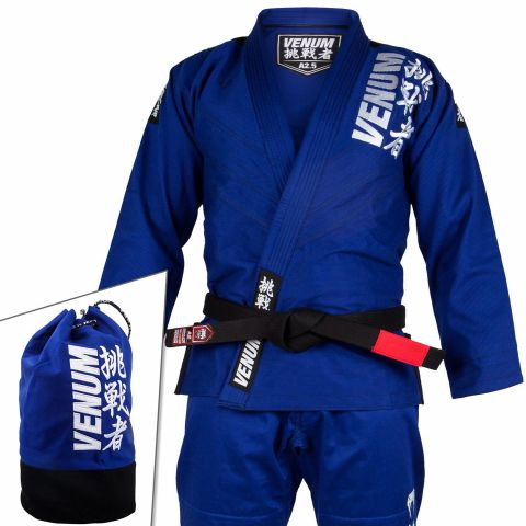 Venum Challenger 4.0 BJJ Gi - (Bag Included) - Blue