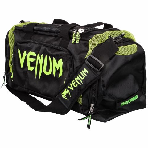 Venum Trainer Lite Sports Bag - Black/Neo Yellow
