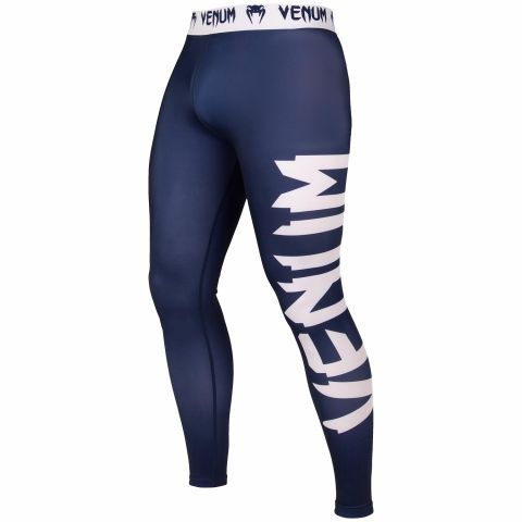 Venum Giant Spats - Navy Blue/White