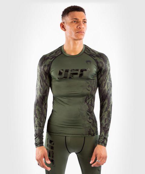 МУЖСКОЙ РАШГАРД С ДЛИННЫМ РУКАВОМ UFC VENUM FIGHT WEEK PERFORMANCE - Хаки