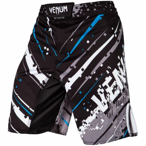 Venum Pixel Fightshorts - Black/Grey