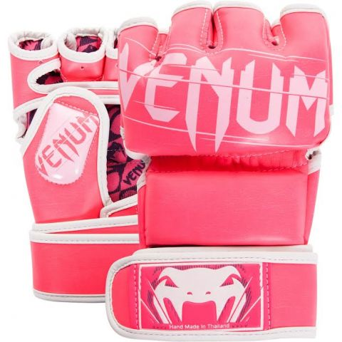 Venum Undisputed 2.0 MMA Gloves - Pink/White - L/XL
