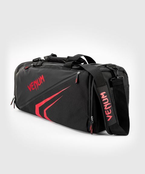Venum Trainer Lite Evo Sports Bags  - Black/Red