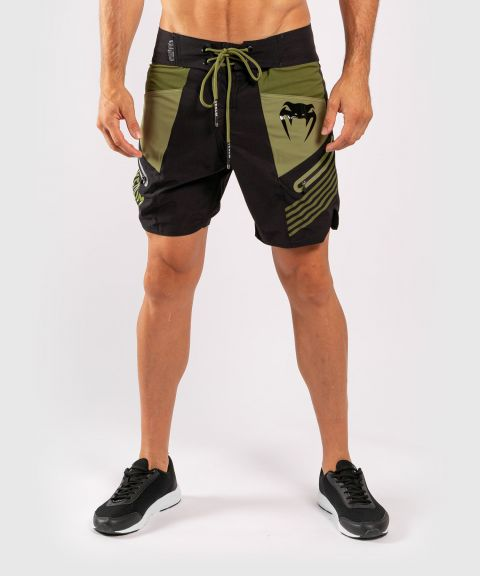 Venum Cargo Boardshorts - Black/Green