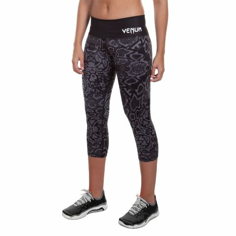 Venum Fusion Cropped Leggings - Black