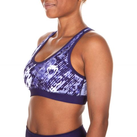 Venum Neo Camo Sports Bra - Dark purple