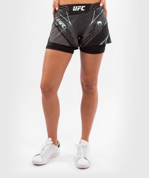 UFC Venum Authentic Fight Night Women's Shorts - Short Fit - Black