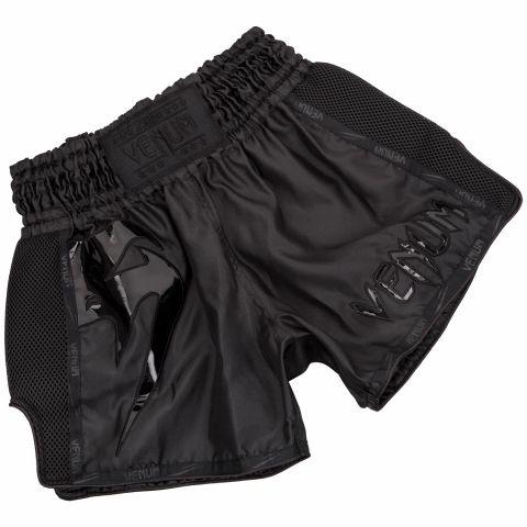 Venum Giant Muay Thai Shorts - Black/Black
