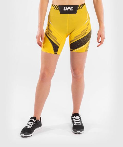 UFC Venum Authentic Fight Night Women's Vale Tudo Shorts - Long Fit - Yellow