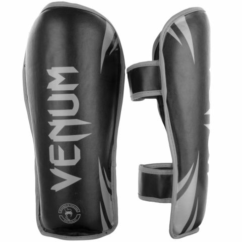 Venum Challenger Shin guards - Black/Grey