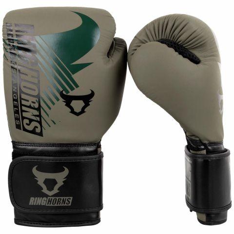 Ringhorns Charger MX Boxing Gloves - Khaki/Black