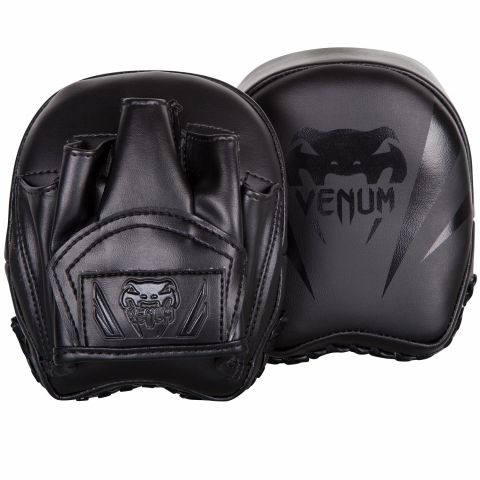 Venum Elite Mini Focus Mitts - Black/Black