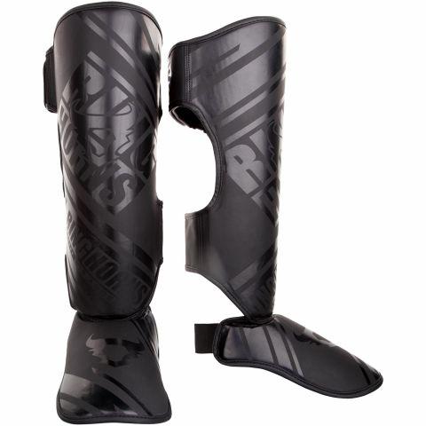 Защитные щитки голени и подъема стопы Ringhorns Nitro – черный/черный
