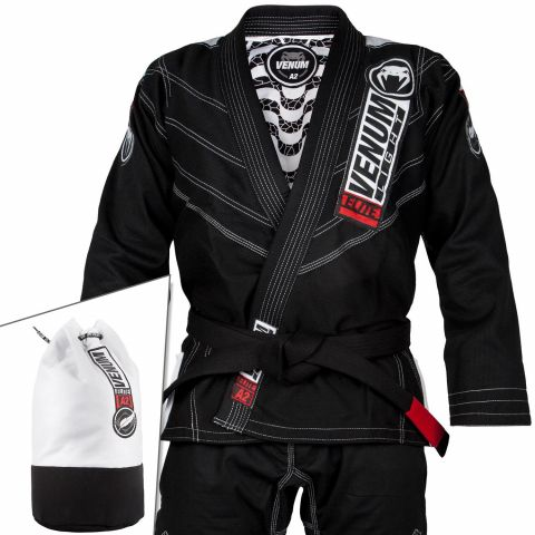 Venum Elite Light 2.0 BJJ Gi - (Bag Included) - Black