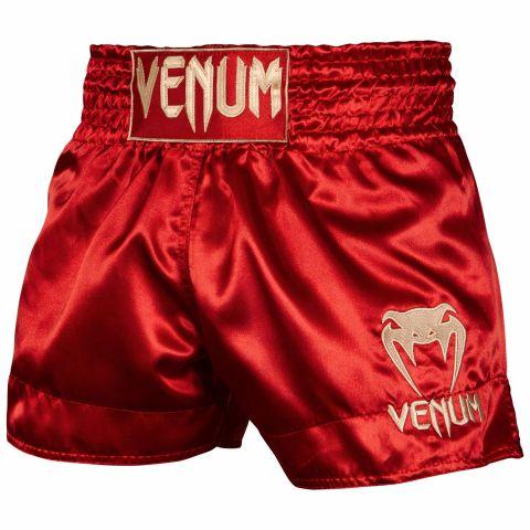 Шорты для тайского бокса Venum Classic - Бордо/Золотой