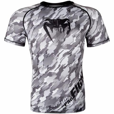 Venum Tecmo Rashguard - Short Sleeves - Grey