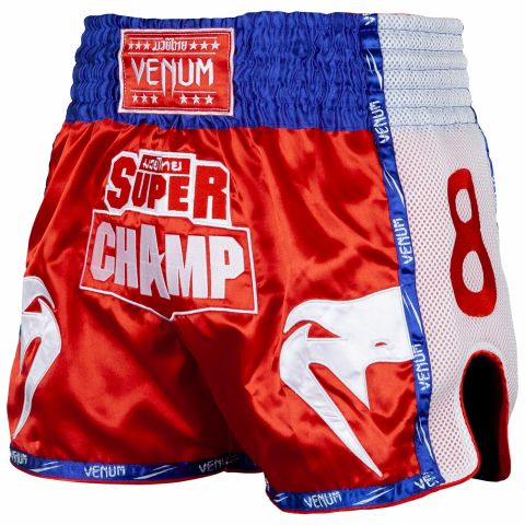 Venum Super Champ Muay Thai Shorts - Exclusive - Red