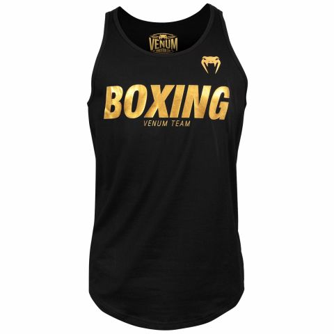 Майка Venum Boxing VT - Black/Gold