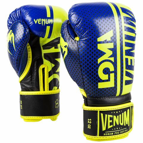 Venum Shield Pro Boxing Gloves Loma Edition - Velcro - Blue/Yellow