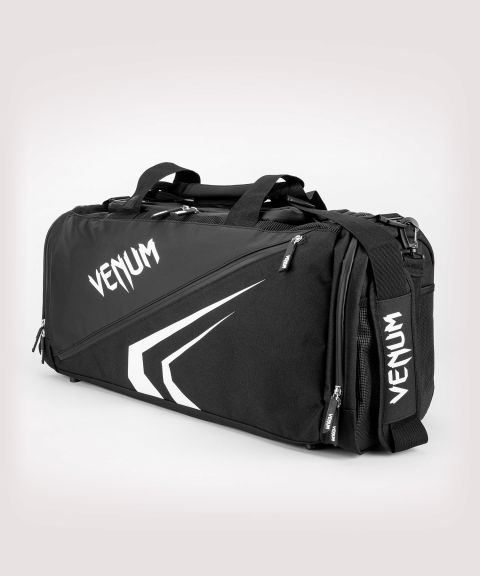 Venum Trainer Lite Evo Sports Bags  - Black/White