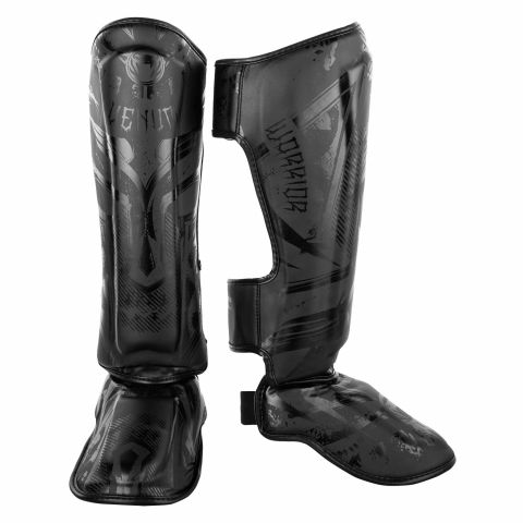 Venum Gladiator 3.0 Shin Guards - Matte Black
