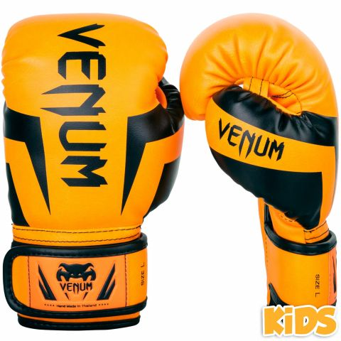 Venum Elite Boxing Gloves Kids - Exclusive - Fluo orange