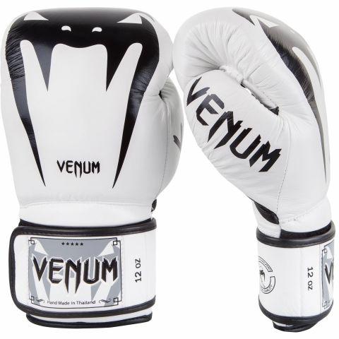 Боксерские перчатки Venum Giant 3.0 - Кожа Наппа - Белый