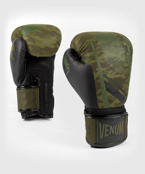 Боксерские перчатки Venum Trooper - Лесной камуфляж/ Черный