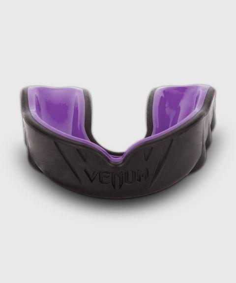 Капа боксерская Venum Challenger – черная/белая - Черный/Фиолетовый