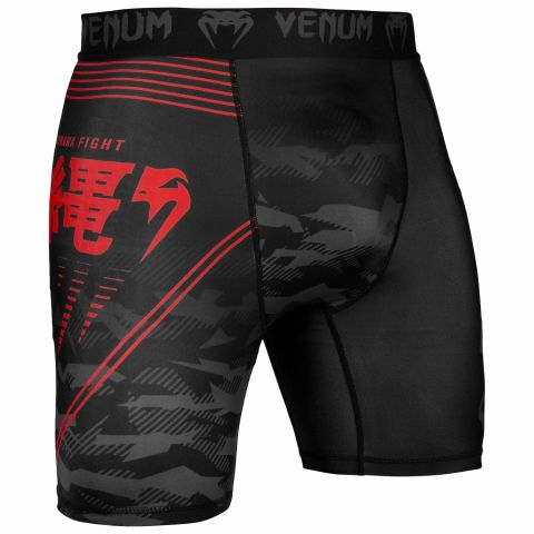 Venum Okinawa 2.0 Compression Shorts - Black/Red