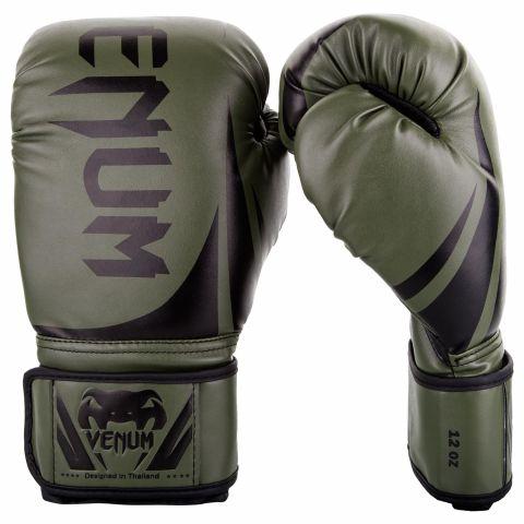 Боксерские перчатки Venum Challenger 2.0 – защитные/черные
